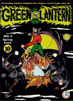 Green Lantern 003. The Living Graveyard of the Sea (March, 1942)