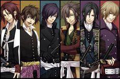 Collection of high quality Hakuouki: Shinsengumi Kitan varied anime images. Anime Sexy, Anime Love, Anime Sensual, Sad Anime, Hot Anime Guys, Negi Springfield, Hamtaro, Anime Shojo, Manga Anime