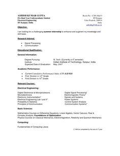 cv template university student resume curriculum vitae format