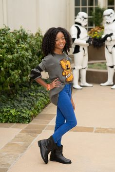 "Skai Jackson at the Premiere of ""Star Wars Rebels"" 2014"