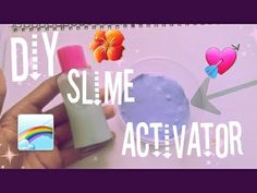 DIY slime activator!! (Cringe)NO BORAX,BAKING SODA | Bxnita - YouTube