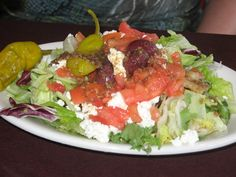 Tapas Restaurant West Hartford - West Hartford, CT, United States. Greek salad