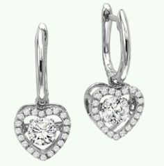 Rhythm of Love Earrings. Moves with her heartbeat! #ROL #HFJ