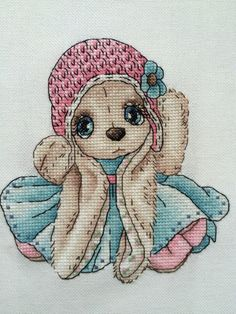 Thrilling Designing Your Own Cross Stitch Embroidery Patterns Ideas. Exhilarating Designing Your Own Cross Stitch Embroidery Patterns Ideas. Cute Cross Stitch, Cross Stitch Animals, Cross Stitch Kits, Cross Stitch Charts, Cross Stitch Patterns, Cross Stitching, Cross Stitch Embroidery, Embroidery Patterns, Cross Designs