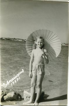 Vintage photo 1957 little Russian girl by PhotoMemoriesLane