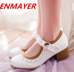 Find More Pumps Information about ENMAYER New women Pumps 2014 Fashion women High heels shoes Round Toe  Spring / Autumn wedding shoes platform pumps,High Quality shoes sofa,China shoe size 3 year old boy Suppliers, Cheap shoe candy shoes from ENMAYER CO., LIMITED on Aliexpress.com