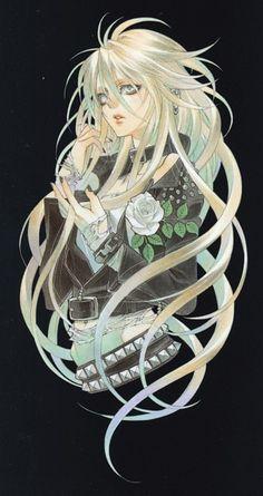 Shibamoto Thores, Trinity Blood, Vanessa Walsh, Manga Cover