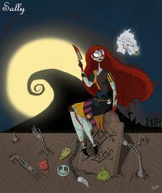 Twisted Princess: Sally by drockNation on deviantART
