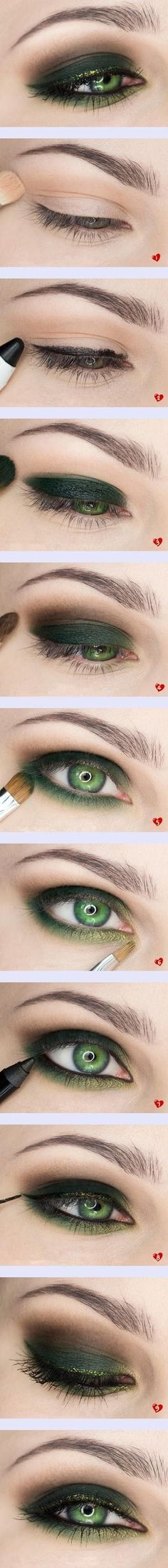 #green #eyes #makeup