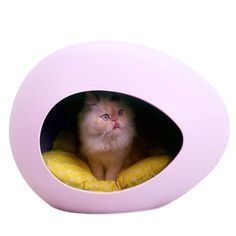 My carzy favorite of all <3  Like an egg :)))  pEi Pod With Cushion Violet, $54, now featured on Fab.