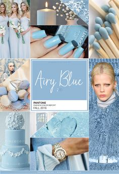 Pantone Fashion Color Report FALL 2016 | 2/10 | Airy Blue - Unha Bonita