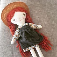 Anne of Green Gables handmade doll