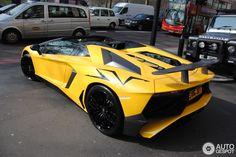 Yellow Aventador SV #SUPERcar