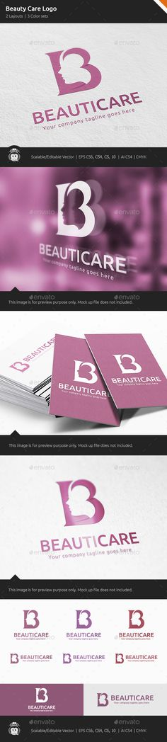 Beauty Care Woman Logo — Vector EPS #female #beauty • Available here → https://graphicriver.net/item/beauty-care-woman-logo/10559412?ref=pxcr
