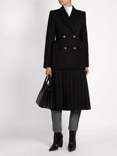 Cavalry wool-twill coat | Balenciaga | MATCHESFASHION.COM UK