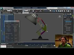 How to Rig the Luxo Jr. Lamp in 3ds Max By Shawn Hendriks - YouTube