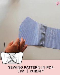 Dress Sewing Patterns, Clothing Patterns, Pattern Sewing, Top Pattern, Fashion Sewing, Diy Fashion, Ideias Fashion, Diy Clothing, Sewing Clothes