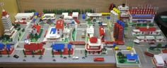 Vintage Lego collections.