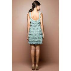 US$ 2,990.00 - Acqua Bellini Crochet Dress - Vanessa Montoro USA - vanessamontorolojausa