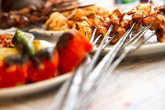 Chicken Shish Kebab in Istanbul