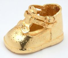 Baby Gold Shoes 15