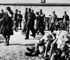 General Patton was so incensed by what he saw when his forces reached the Buchenwald Concentration Camp, that  he ordered that a thousand civilians be collected and made to see what their leaders had done. The MPs were so enraged that they brought back 2,000.