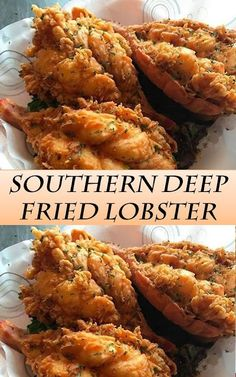southern recipes The Best Southern Deep Fried Lobster - Food and Drink Lobster Dishes, Lobster Recipes, Fish Dishes, Seafood Dishes, Seafood Recipes, Cooking Recipes, Healthy Recipes, Lobster Food, Deep Fried Recipes