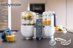 Discover the Loft White babymoov Nutribaby+ foodmaker - great for baby & the family. It has 3 blending speeds & bottle warmer, steriliser, steamer, blender Healthy Meals To Cook, Nutritious Meals, Healthy Cooking, Easy Meal Prep, Easy Meals, Baby Food Steamer, Baby Cooking, Baby Weaning, Bottle Warmer