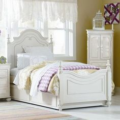 LC Kids Charlotte Panel Bed
