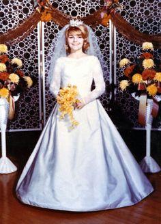 Vintage Brides — 1964 bride Marilyn