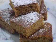 """Almás kevert gluténmentes sütemény Gyorsan és könnyen elkészíthető kevert gluténmentes sütemény. Olcsón gluténmentes alap lisztekből elkészítve. Hozzávalók: 12 szelet 10 dkg kukoricaliszt 10 dkg rizsliszt 2 evőkanál útifű maghéj 1,5 édesítő (* 1:4) 5 g gluténmentes sütőpor 2 kávéskanál fahéj 30 dkg reszelt alma 1 dl rizsital (""""ri..."""