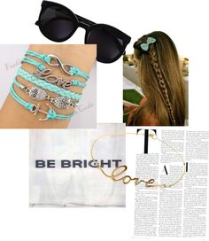 """""""be bright"""" by aghemming ❤ liked on Polyvore"""
