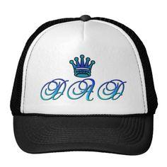 DAD Trucker Hat by www.zazzle.com/htgraphicdesigner* #zazzle #gift #giftidea #fathersday #father #dad #men #trucker #hat