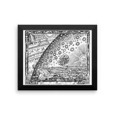 Flammarion - Enhanced Matte Paper Poster (FRAMED)
