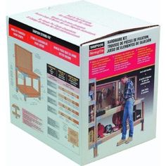 Simpson Strong-Tie KWB1 Workbench Kit - This kit is a waste of money as I can get the parts separately from the hardware store.. Just posting for the idea.. Would make a potting bench.
