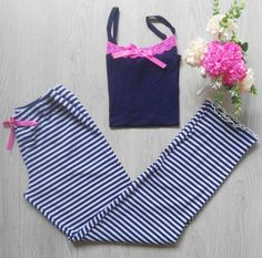 Summer Pajamas, Sexy Pajamas, Pajamas Women, Sleepwear Women, Lingerie Sleepwear, Teen Fashion Outfits, Kids Outfits, Ladies Bar, Cute Pjs
