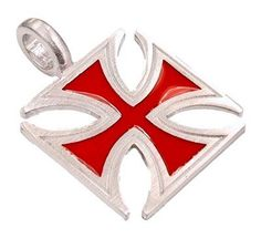 Big Red Iron Cross Pewter Pendant Necklace Dan Jewelers. $13.57. Dan Jewelers has tens of thousands of positive feedbacks across the internet.. Satisfaction guaranteed.. Hypoallergenic. Good value. Does not tarnish. Save 32%!
