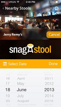 Bar Stool Reservations in Boston