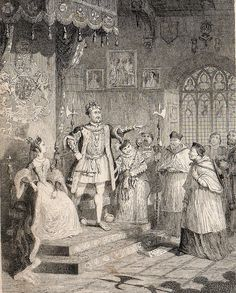 'The dismissal of Cardinal Wolsey'