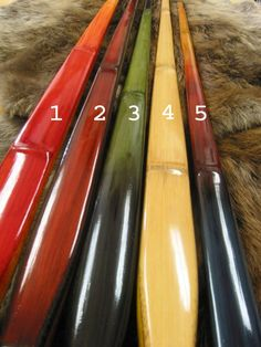 Custom Made Long Bows built to your specifications by Master Bowyer Tom Turgeon of Boise Bows and Arrows