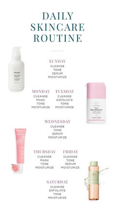 To maintain a consistent skin care routine - Diy Körperpflege - Beauty Beauty Care, Beauty Hacks, Diy Beauty, Homemade Beauty, Beauty Ideas, Beauty Makeup, Haut Routine, Skin Care Routine For 20s, Nighttime Skincare Routine