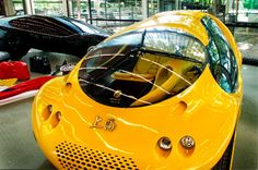 Extravagant Designs by Luigi Colani: incredible aerodynamic shapes: