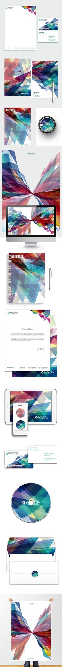 pinterest.com/fra411 #visual #identity - Synergy Branding by Firman Suci Ananda , via Behance