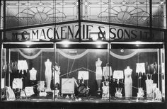 Underwear display, Glen Innes, New South Wales. 1930s