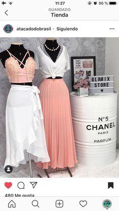 Boutique Decor, Boutique Interior, Fashion Boutique, Clothing Store Interior, Clothing Store Design, Nails Bar, Clothing Photography, Skirt Outfits, Designer Dresses