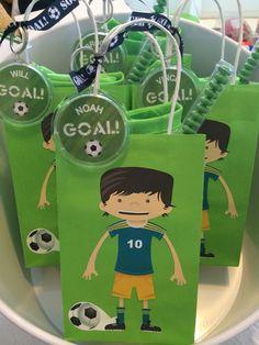 Soccer favor bag