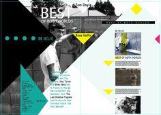 magazine layout infographic - Google 검색
