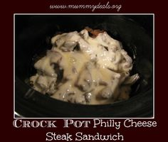 Crock pot Philly Che