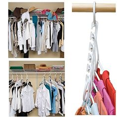 Small Kitchen Organization And DIY Storage Ideas – Cute DIY Projects - Denver croix Diy Clothes Organiser, Diy Clothes Hangers, Diy Clothes Storage, Closet Hangers, Diy Storage, Storage Ideas, Small Storage, Small Kitchen Organization, Home Organization