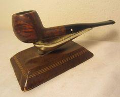 Vintage Dr. Grabow Golden Duke Straight Apple Briar Estate Tobacco Smoking Pipe
